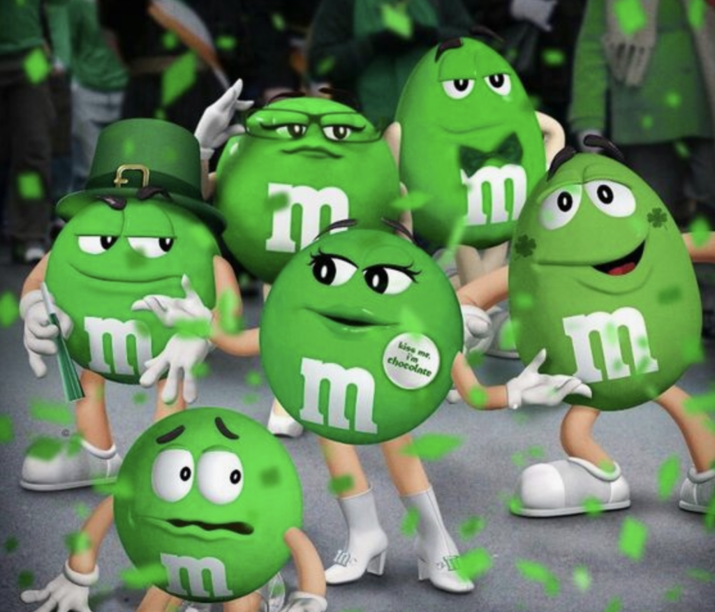 Miss Green M&M